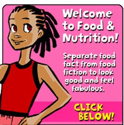 Food and Nutrition children's health Center for Disease Control and Prevention  BAM! Body and Mind