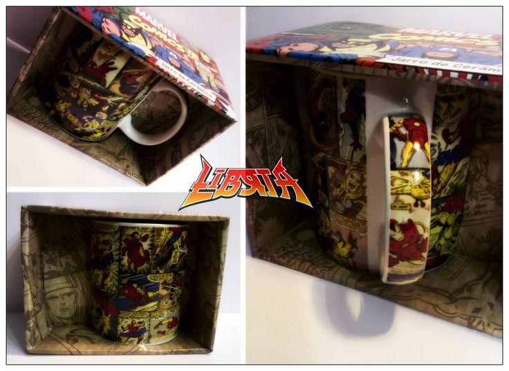 Taza original Marvel cómics (cerámica)