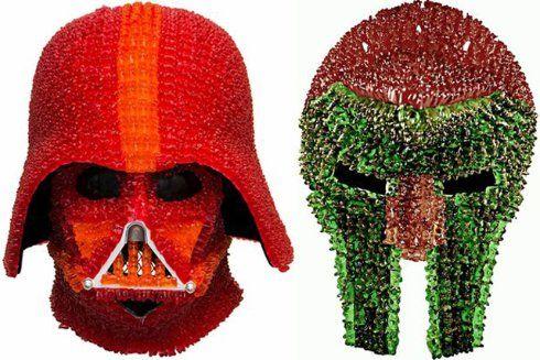 Из мармеладных мишек создали шлем Дарта Вейдера (ФОТО) - http://supreme2.ru/7778-iz-marmeladnyx-mishek-sozdali-shlem-darta-vejdera-foto/