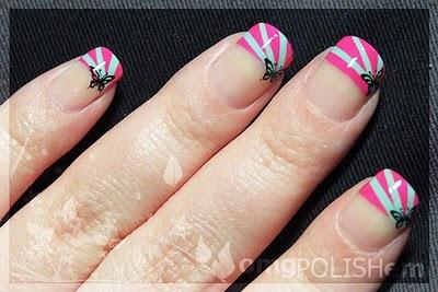 Candy StripesNails Mani Pedi, Nails Stuff, Nails Polish 3, Nails Design, Nails Art Styl, Nails Ideas, Nails Make Up, Candies Stripes, Stripes French