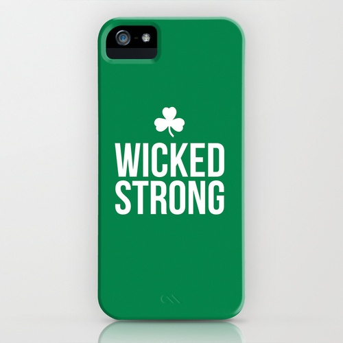 Sugarandtype.com/Boston // Wicked Strong iPhone Case