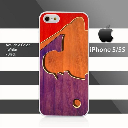 MLB Baseball Logo Wood on Colors iPhone 5 5s Rubber