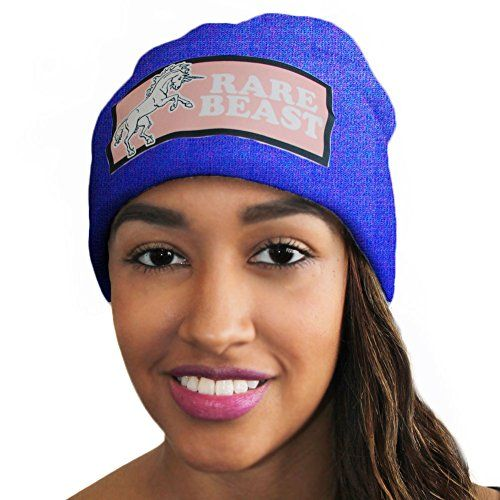 "Slang Beanies® ""Unicorn Rare Beast"" Dye Sublimated Ribbed Comfort Knit Hats 10+ Colors Available (ROYAL BLUE) Slang Beanies http://www.amazon.com/dp/B00THP8XYO/ref=cm_sw_r_pi_dp_i3.6ub070Q32W"