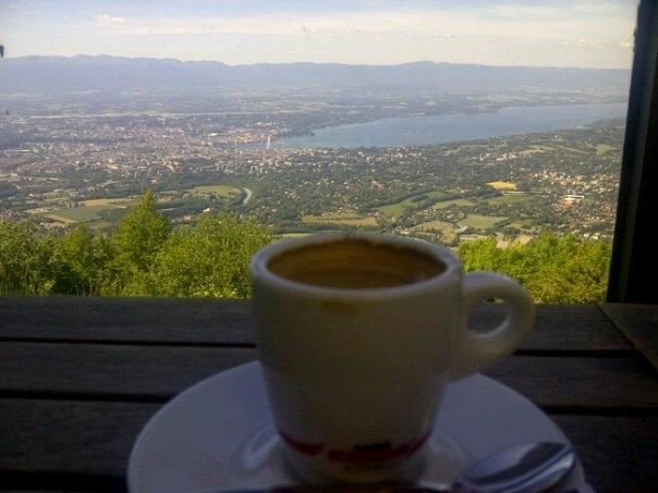 Geneva (Seen from mount Salève)