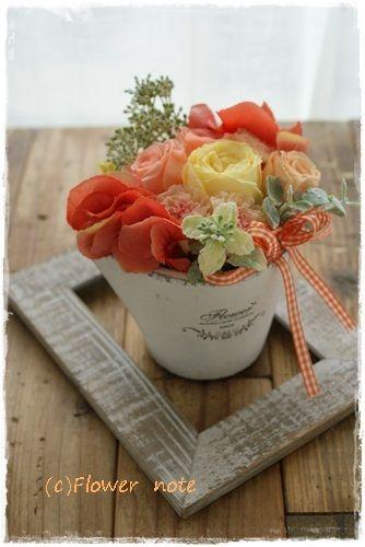 『【プチアレンジ】バレエの発表会』 http://ameblo.jp/flower-note/entry-11570788529.html