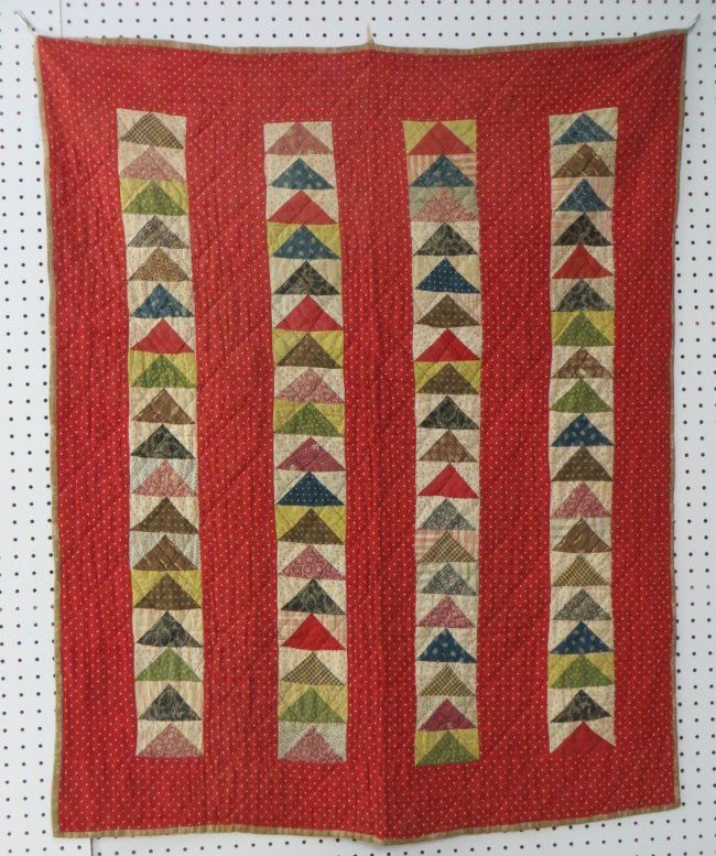 crib-quilt-flying-geese-pattern