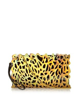 35% OFF Nila Anthony Women's Hologram Clutch, Gold