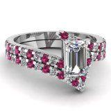 Fascinating Diamonds 2.65 Ct Emerald Cut Diamond