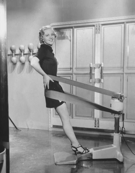Workout…in heels.