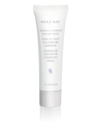 Mary Kay® Medium-Coverage Foundation $15 - This lightweight liquid foundation gives you stay-true, stay-put color for flawless, natural-looking, long-lasting, even coverage. The silky-smooth formula provides buildable coverage and controls excess oil for at least eight hours. For normal to oily skin.