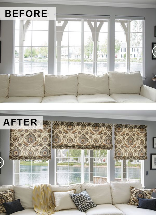 128 best fabric shades images on pinterest blinds curtains and draping. Black Bedroom Furniture Sets. Home Design Ideas