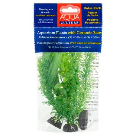 Pennplax Aquarium Ornament, Plants, Green