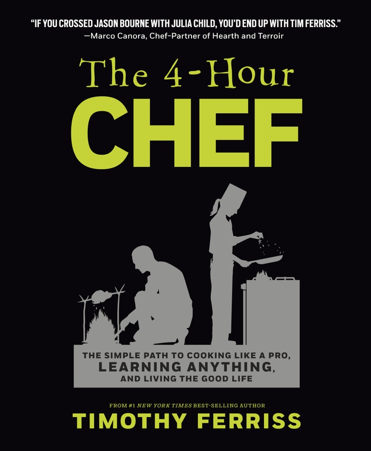 OFFICIAL PIN - Win an autographed copy of the 4-Hour Chef! Just follow me on Pinterest and repin this book cover with the #4HourChef hashtag so we can find it! Book comes out November 20th. Contest runs November 16 - 26, 2012.