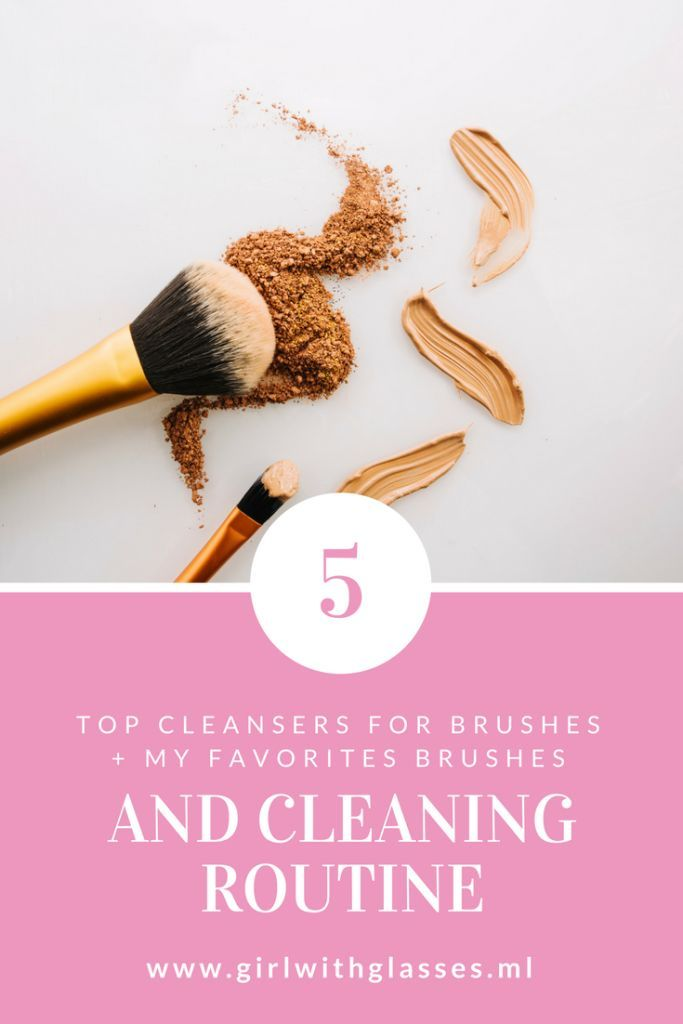 Clean your make up brushes regulary here are my tips and products