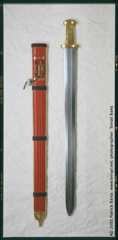 Germanic Gold Hilt Spatha Late 5th Century Patrick B 225 Rta