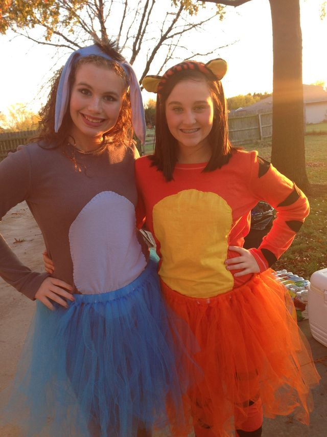 8 best spirit week images on pinterest costumes carnivals and eyore and tigger halloween costumes solutioingenieria Images