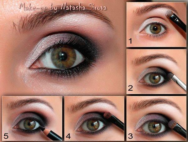 макияж для зеленых глаз пошагово - Поиск в Google