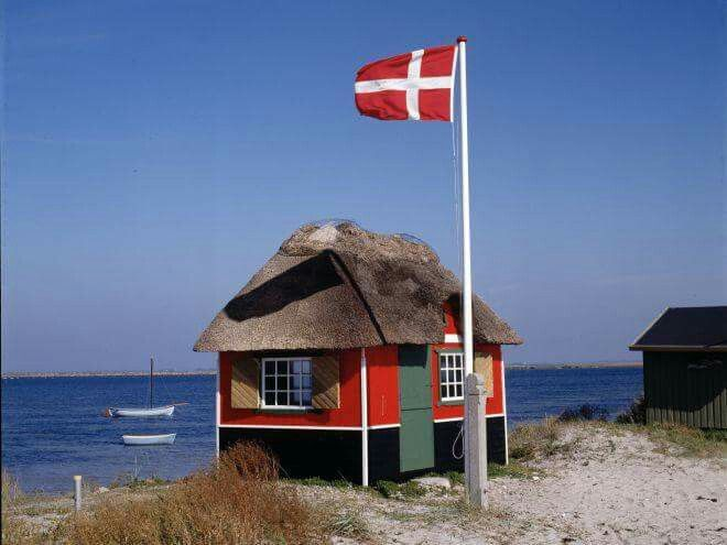 Ready for a beautiful day at the beach  #zen #beach #denmark #vesterhavet #flag #danes #Denmark
