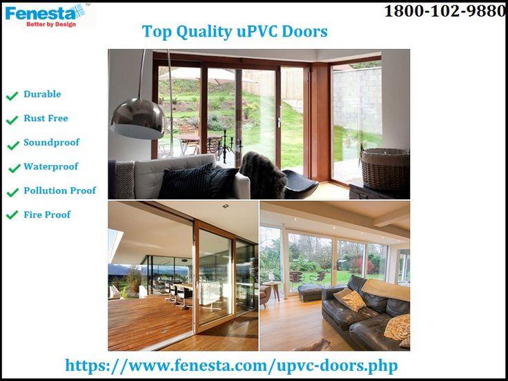 Fenesta is a Indiau0027s largest manufacturer u0026 supplier of UPVC Doors. Please visit the website & 45 best Doors images on Pinterest   Balconies Upvc french doors ... pezcame.com