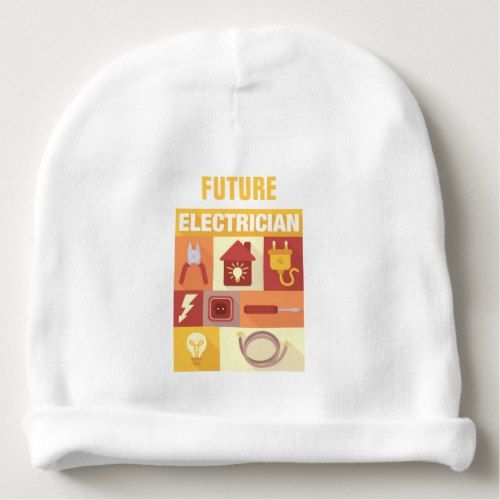 Professional Electrician Iconic Designed Baby Beanie
