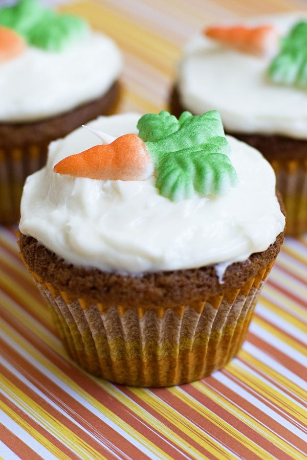 Carrot Cake Cupcakes | Recipes | Pinterest