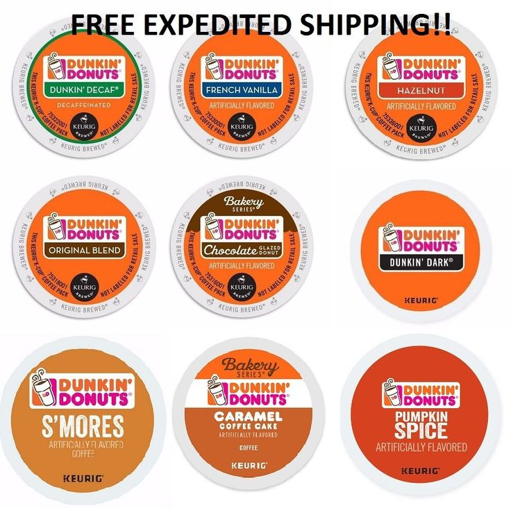 Dunkin Donuts Coffee Keurig KCups PICK ANY FLAVOR