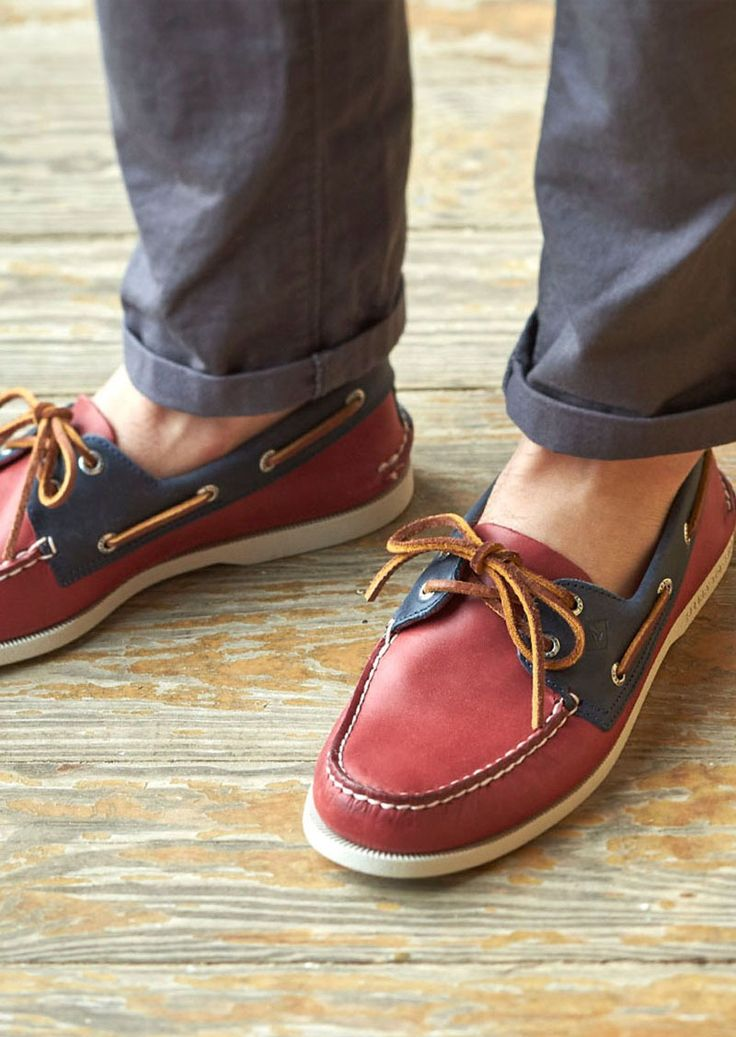 Official Sperry Site - Enhance your look with the classic, maritime style  and functionality of our Sperry Authentic Original Sarape Boat Shoe for men