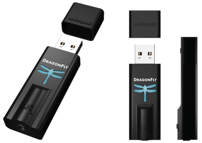 Tiny and Mighty    The AudioQuest DragonFly is to high end audio what Tiny Mighties® Magnets are to a refrigerator. Both are very small and pack a big punch. In fact the DragonFly is half the size of the EMM Labs logo on top of the DAC2X.    For more information please visit www.audio-one.com or call 954-THEATER