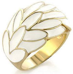 #modeets.com              #ring                     #Gold #Plated #White #Cocktail #Ring #Modeets       Gold Plated White Cocktail Ring ??? Modeets                                   http://www.seapai.com/product.aspx?PID=1447745