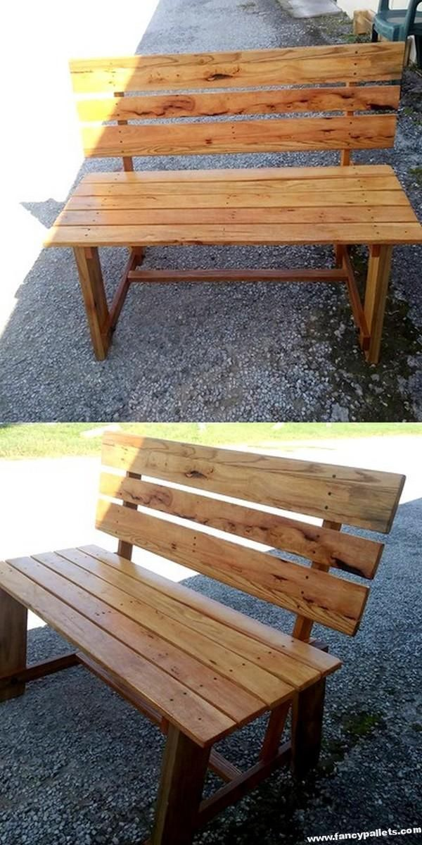 Good Looking Pallet Bench Pallet Home Decor Wood Pallet Projects Pallet Bench