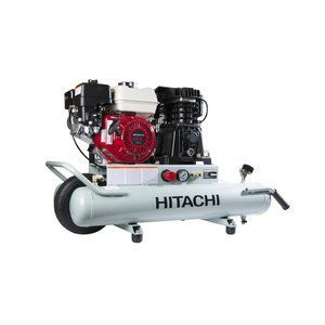 Special Offers - Hitachi EC2610E Gas-Powered Wheelbarrow Air Compressor with Honda Engine 8 gallon For Sale - In stock & Free Shipping. You can save more money! Check It (October 04 2016 at 11:02PM) >> http://pressurewasherusa.net/hitachi-ec2610e-gas-powered-wheelbarrow-air-compressor-with-honda-engine-8-gallon-for-sale/