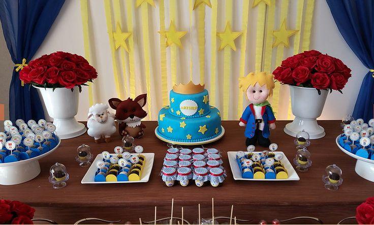 Decoração de Festa Pequeno Príncipe | NaBeca Festas | Elo7