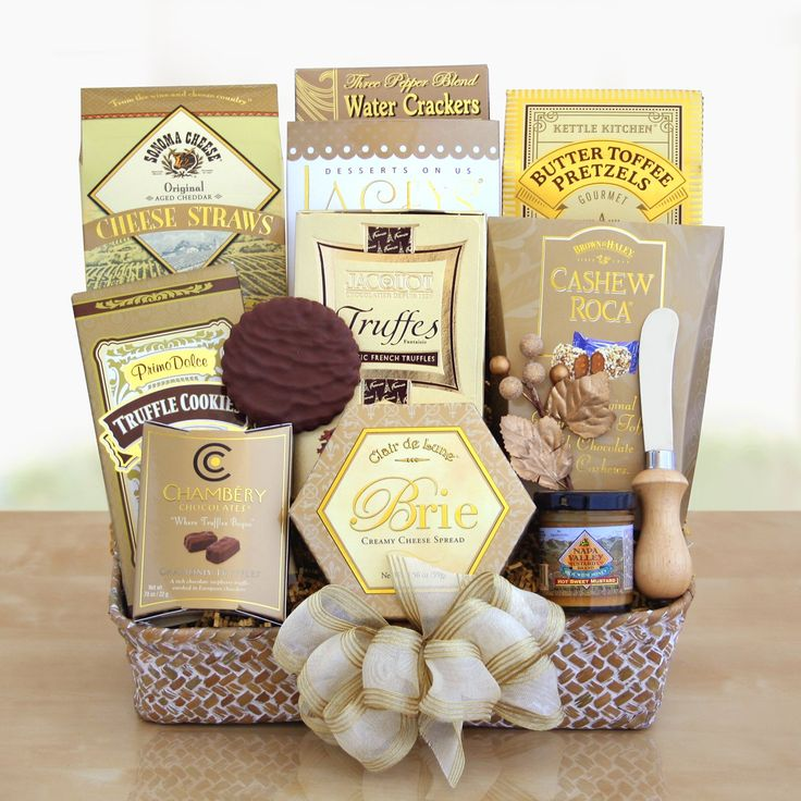 Best 25 gourmet gift baskets ideas on pinterest winston flowers simple gourmet gift basket 4175 hayneedle negle Image collections