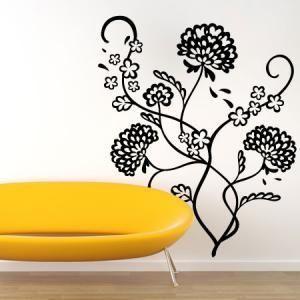 Stickers Bouquet de Pivoines