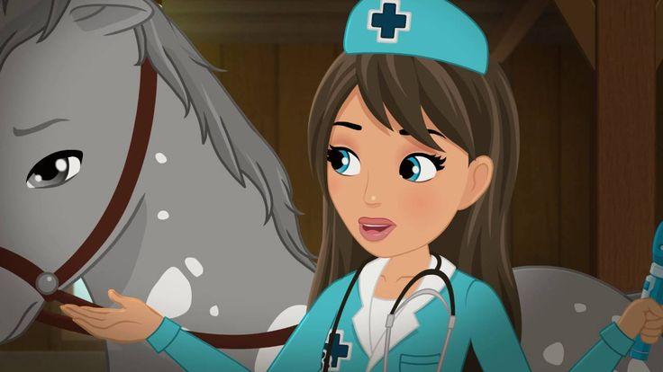 Hogyan gyógyítsunk lovat? - LEGO® Friends - 3. évad 16. epizód