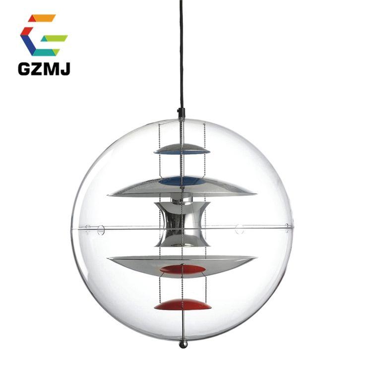256.20$  Watch here - http://ali2jt.shopchina.info/1/go.php?t=1710252652 - Modern Pendant Lamps ITALY VP GLOBE Suspension Denmark Modern Pendant Light Glass UFO Ball Creative Brand Design for Office Room 256.20$ #buymethat
