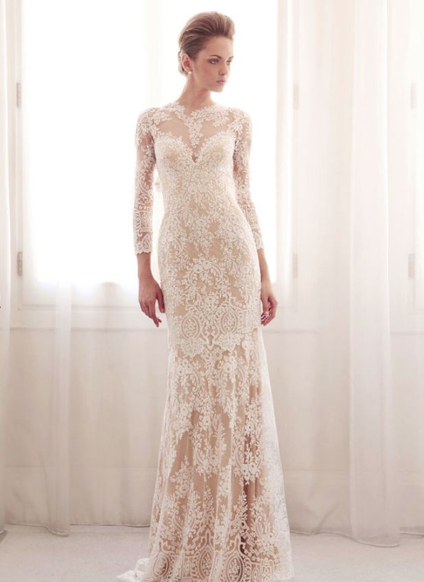 Gemy Maalouf Wedding Dresses 2014 Collection. To see more: http://www.modwedding.com/2014/07/02/gemy-maalouf-wedding-dresses-2014-collection/ #wedding #weddings #wedding_dress #gemymaalouf