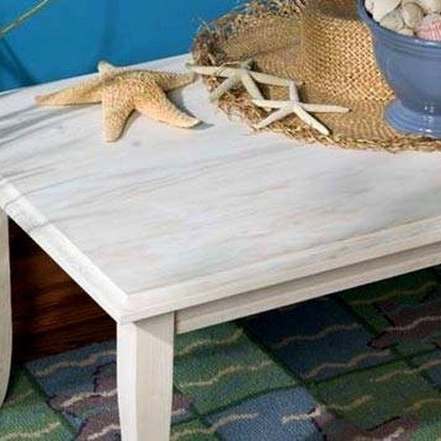 How to Whitewash Painted Furniture