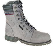 Echo Waterproof Steel Toe Work Boot, Frost Grey