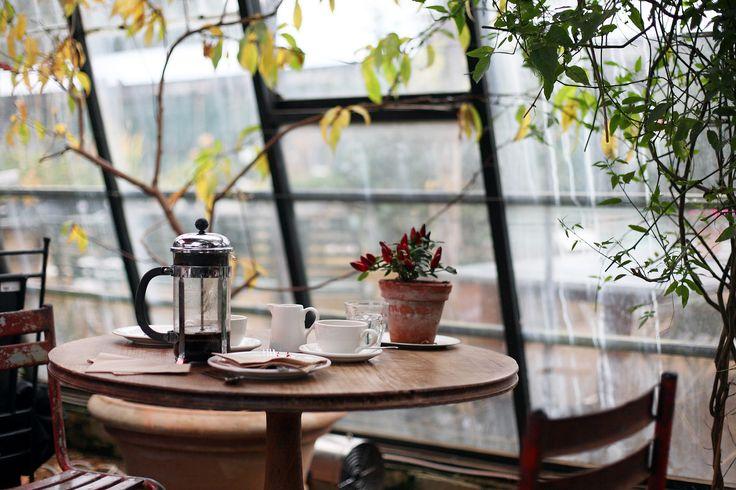 Kris Atomic | Petersham Nurseries (i would love to sit and have coffee here)