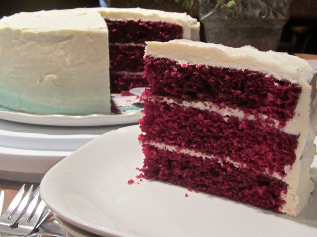 Red Velvet Cake from MA in the Kitchen