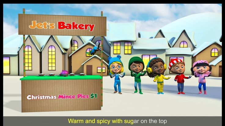 The best Christmas dance and action song for kids. Sing along to the five mince pies lyrics. Join the Little Action Kids as they move and sing to this fun kids Christmas song. Great song for school, home and preschool performances!