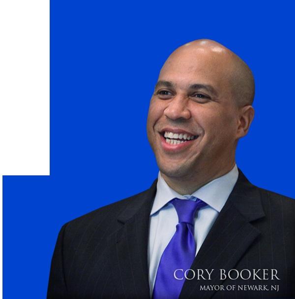 Cory Booker - Mayor of Newark New Jersey