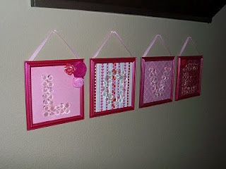 I am going to do this with for my girls room with their names - too cute!