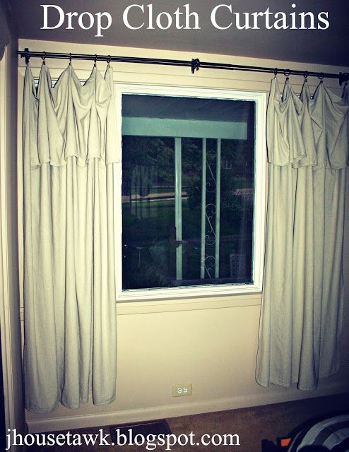 Best 25 Painters Cloth Ideas On Pinterest Drop Cloth Curtains Outdoor Screened Porch