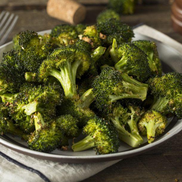 Brocolis rôtis | Recette | Brocolis, Recette cuisine ...