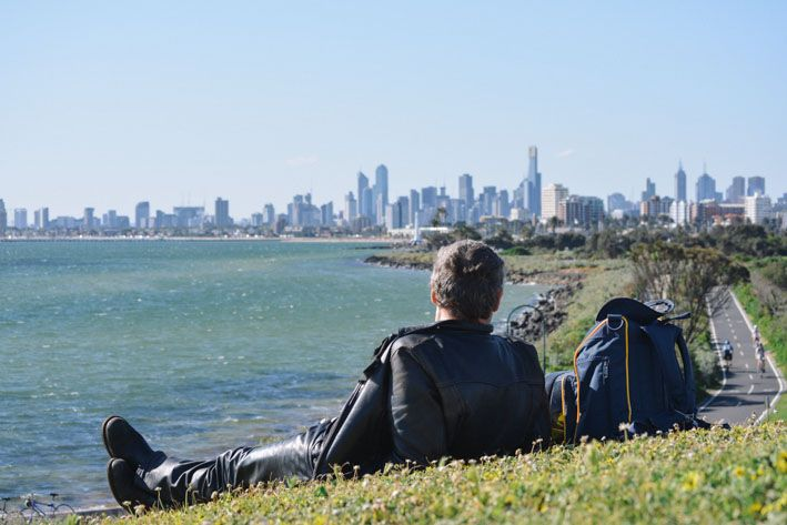 We've listed our top 5 places to enjoy the Melbourne CBD view. This one is from Ormond Point Lookout. #victoria #melbourne #view Klaus and Fritz | http://klausandfritz.com/top-5-views-of-melbourne/