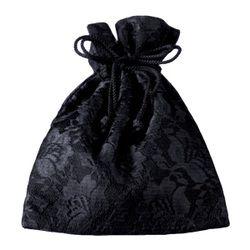 【フォーマル用バッグ・鞄(かばん)】ブラックフォーマル巾着