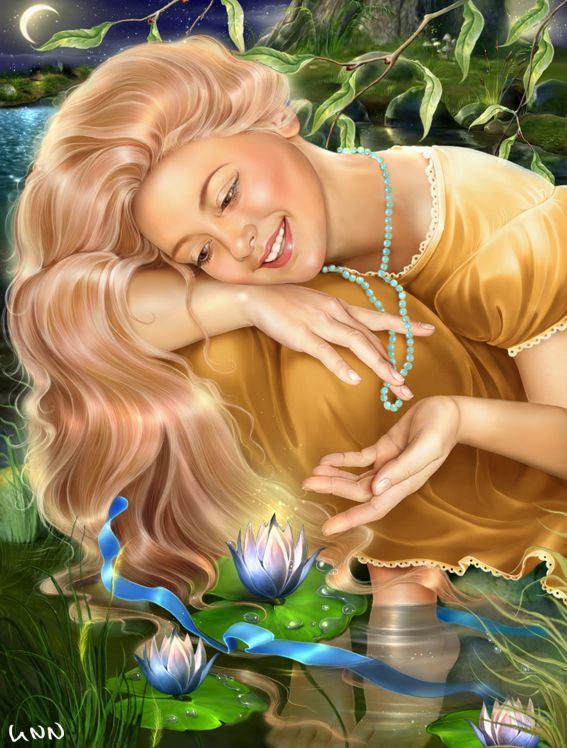 illustrations by INNA KUZUBOVA at Coroflot.com