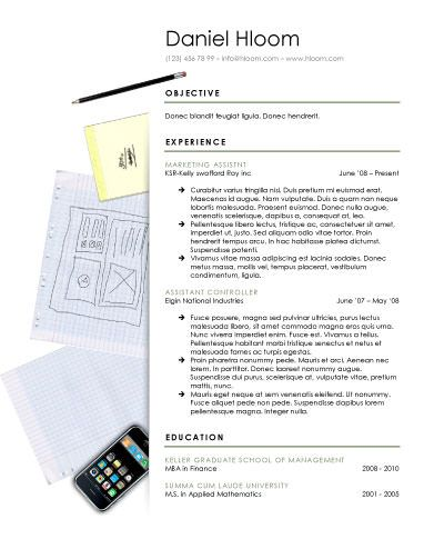 112 best Resume Templates images on Pinterest Creative resume